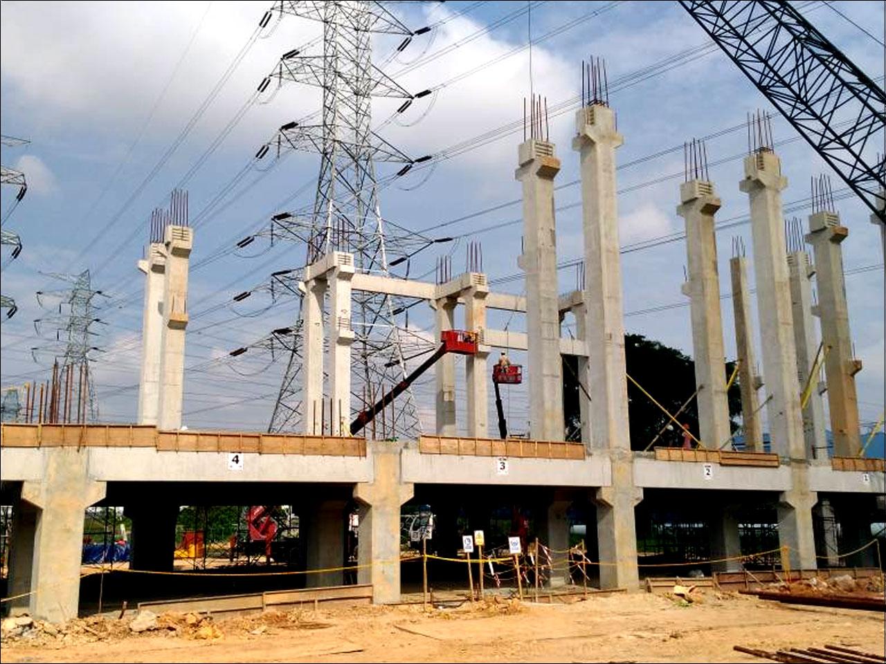 275kV Kangkar Tebrau Substation 275KV GIS & 240MVA TX