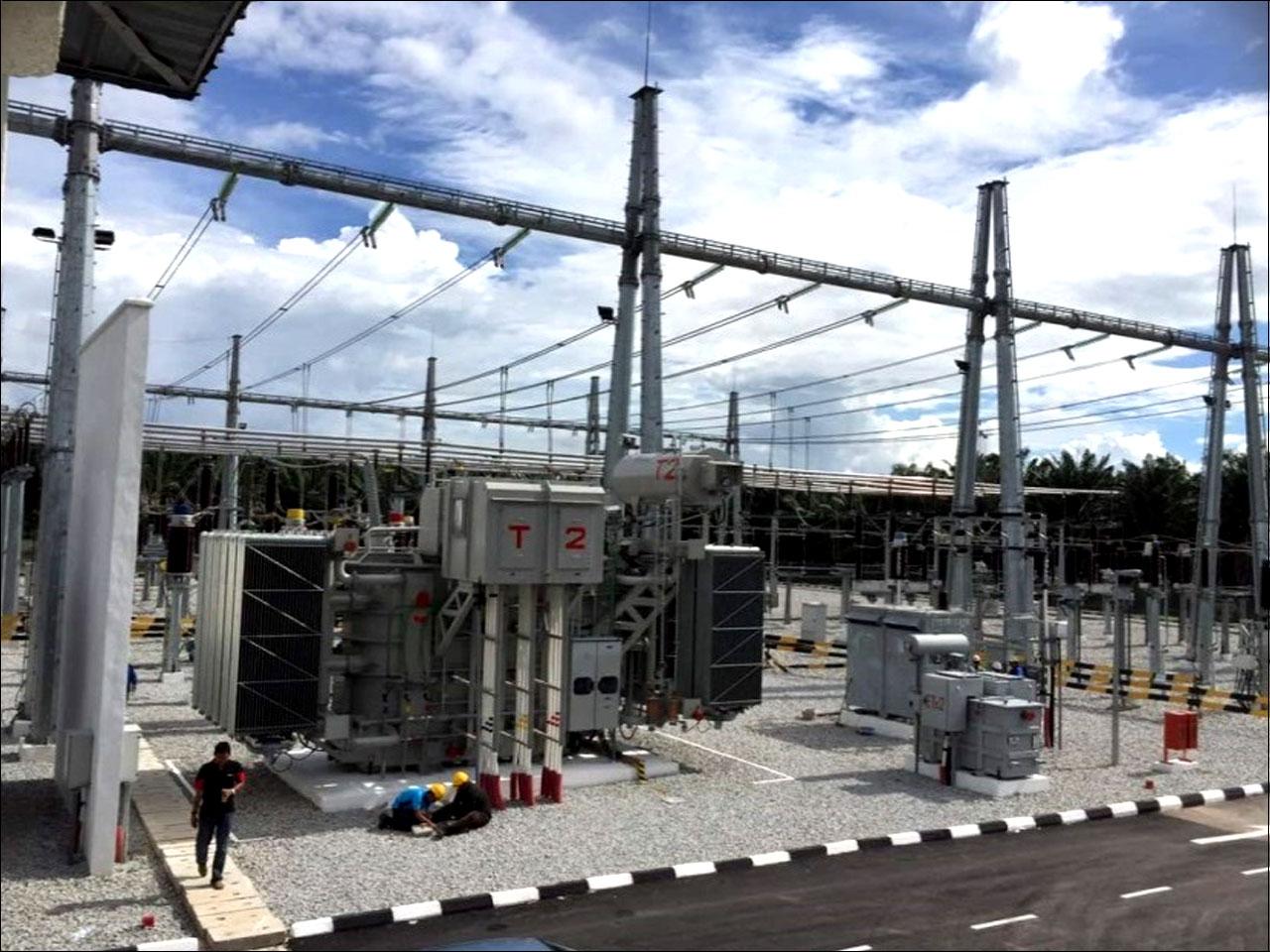 Kuala Selangor 2X90 MVA TX & 33KV GIS