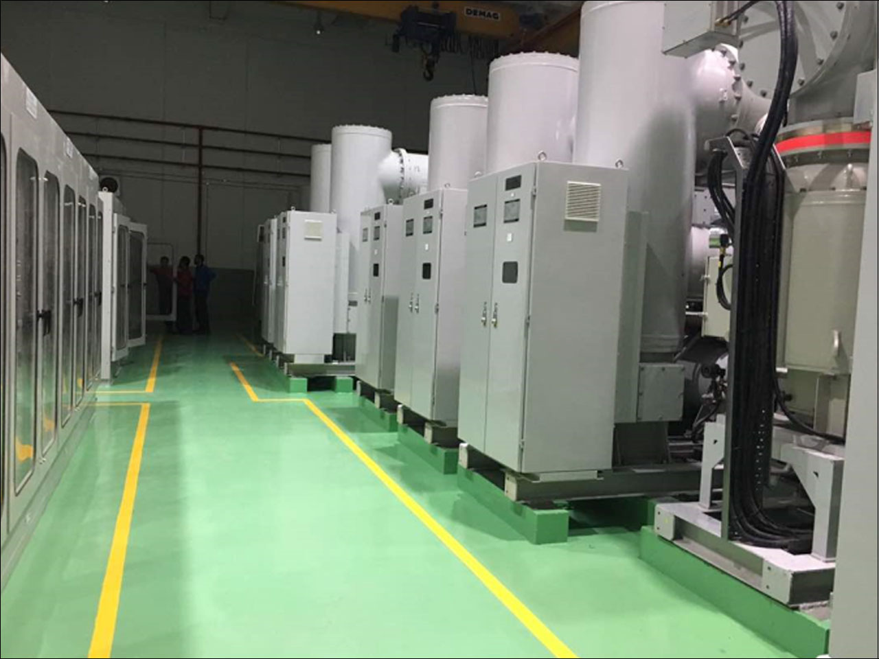 PMU Suncity – 132kV  Gas Insulated Switchgear (GIS)